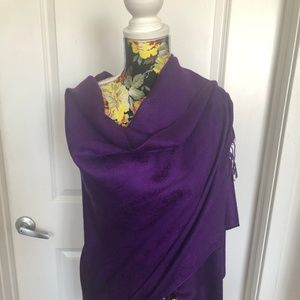 100% Cashmere shawl from India